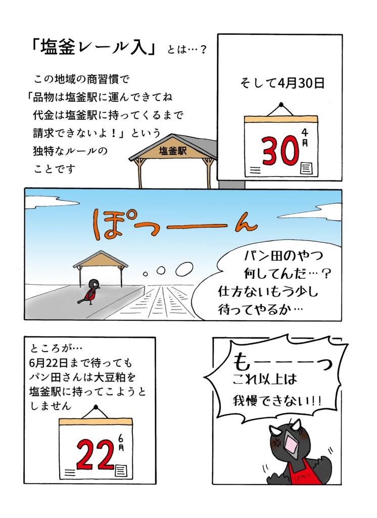 塩釜レール入事件の解説マンガ2ページ目
