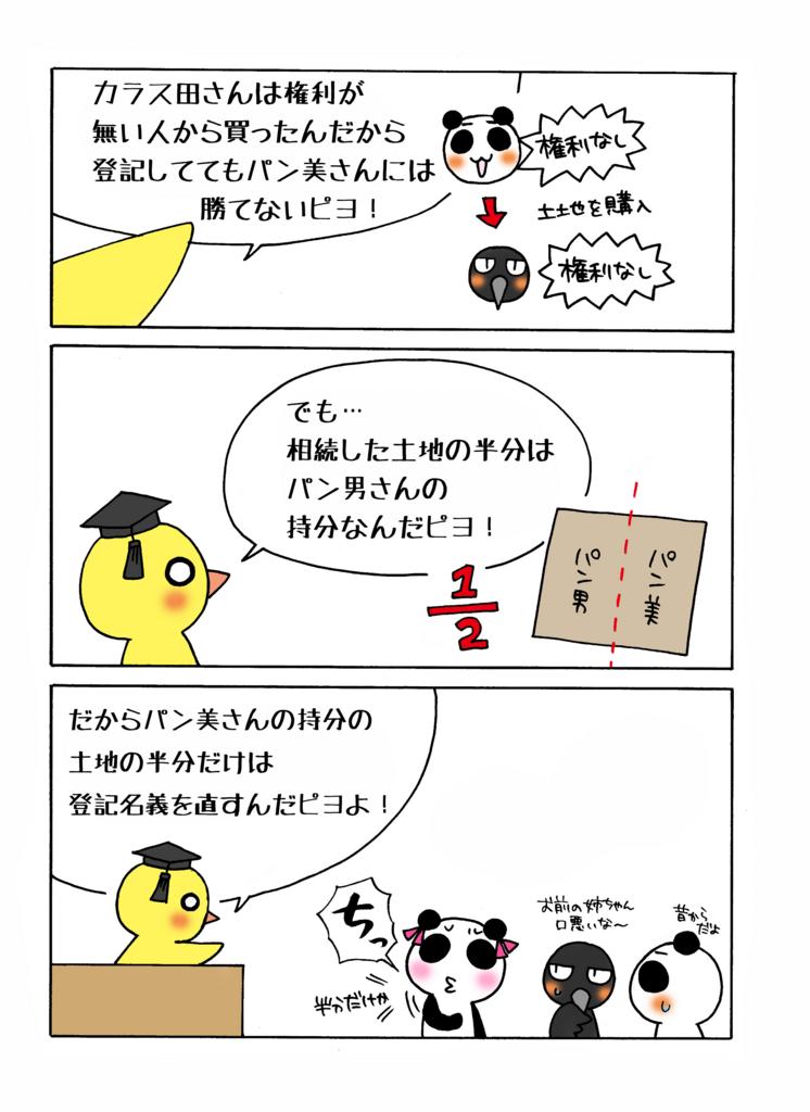 『共同相続と登記』解説マンガ4ページ目