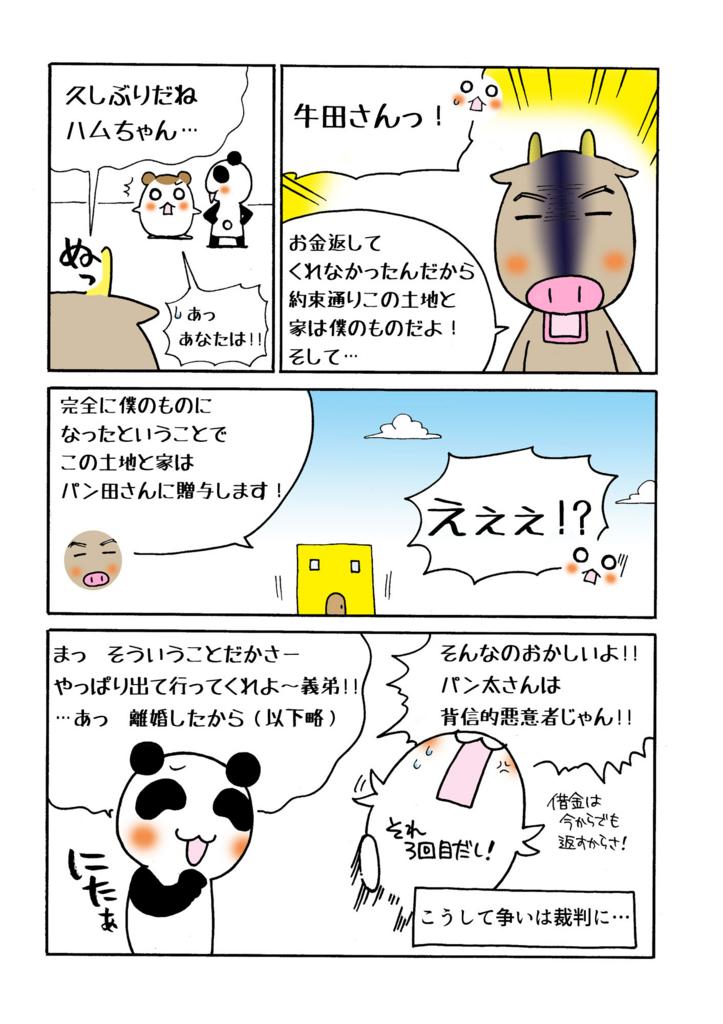 『不動産譲渡担保の実行』解説マンガ4ページ目