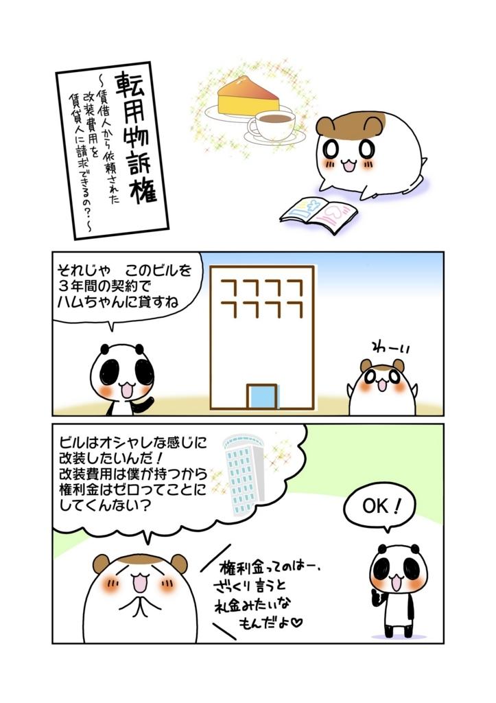 『転用物訴権』解説マンガ1ページ目