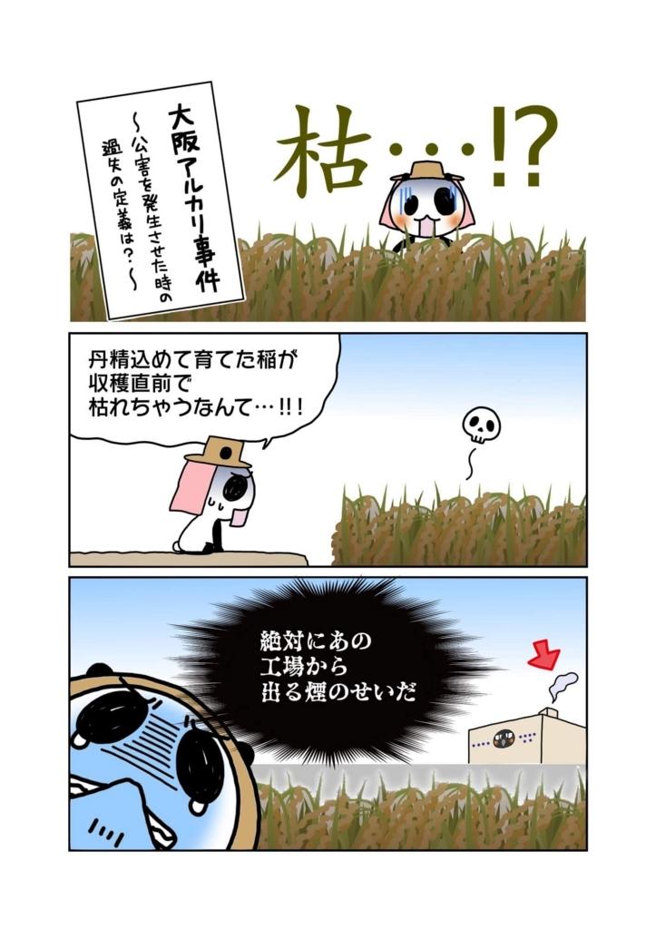 『大阪アルカリ事件』解説マンガ1ページ目