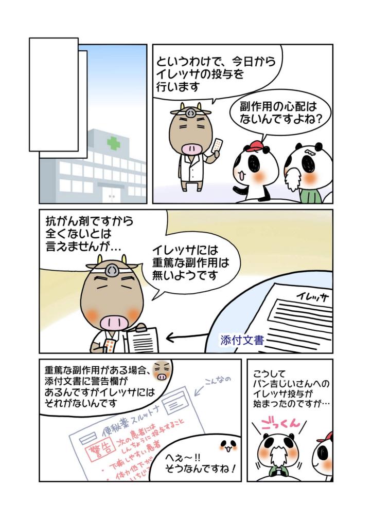 『イレッサ薬害訴訟』解説マンガ2ページ目