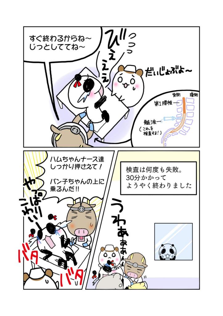 『東大病院ルンバール事件』解説マンガ3ページ目