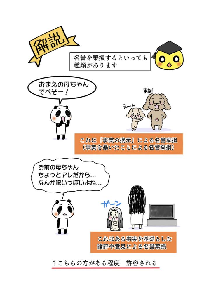 『ロス疑惑・名誉棄損訴訟』解説マンガ6ページ目