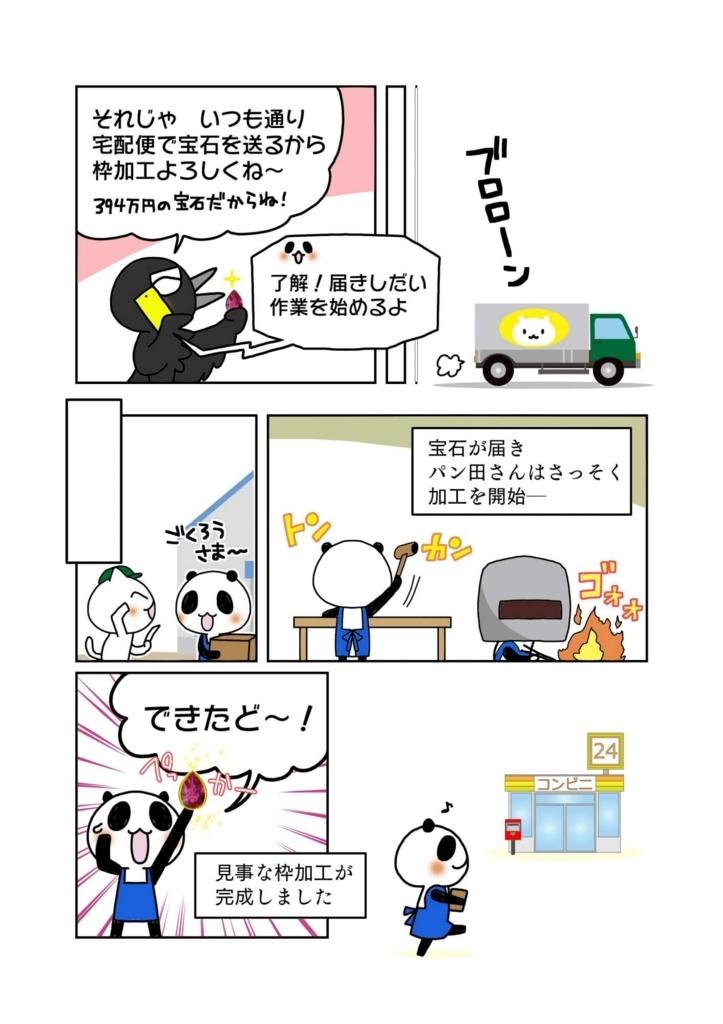 『宅配便紛失時の賠償』解説マンガ2ページ目