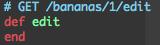 rubyの書き方無意味なコード、