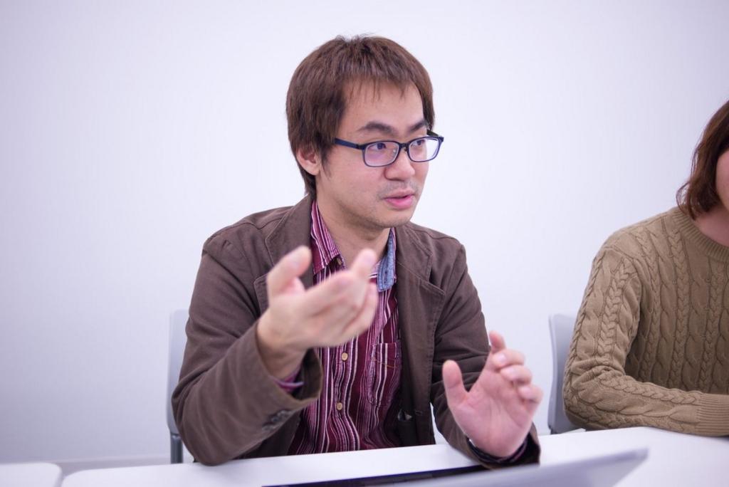 基盤技術チーム 佐藤さん