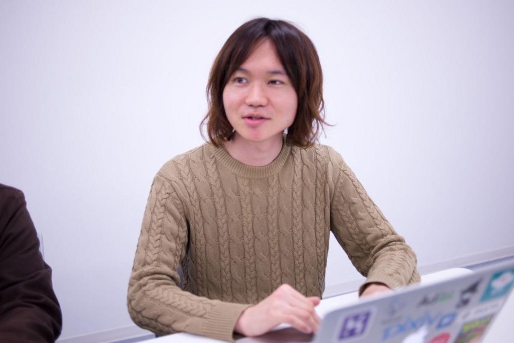 基盤技術チーム 後藤さん