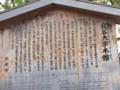 [京都・伊勢の旅の風景]龍谷大学にて2013年4月17日撮影