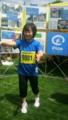 増田明美選手がラオス、東北の震災を支援