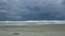 9月1日の台風接近中の波