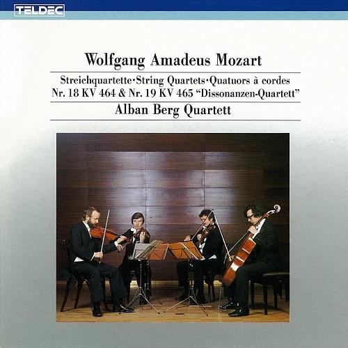Mozart String Quartet 18,19