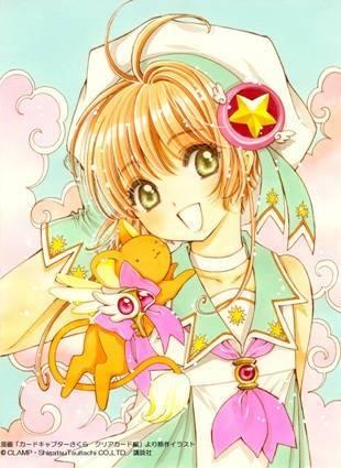 クリアカード編の桜