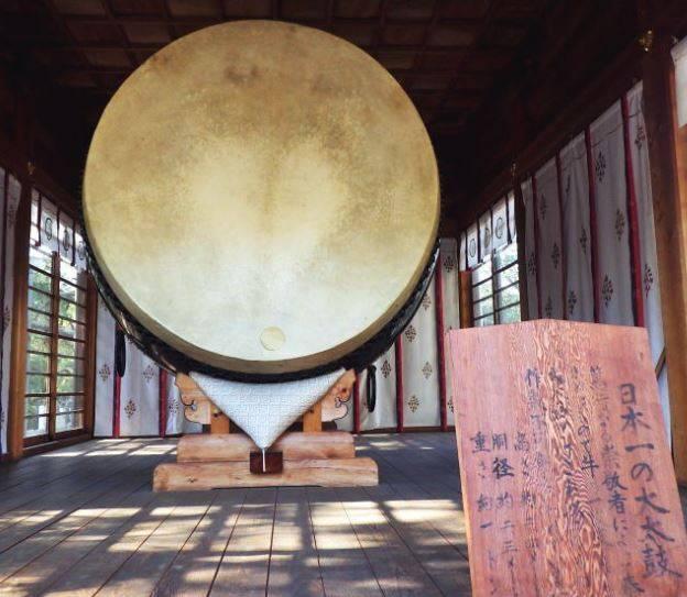 日本一大きい太鼓