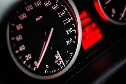 スピードメーターの画像