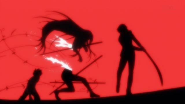 敵の攻撃で雪姫がバラバラに