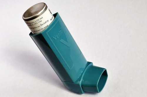 喘息の発作時に使う薬の画像