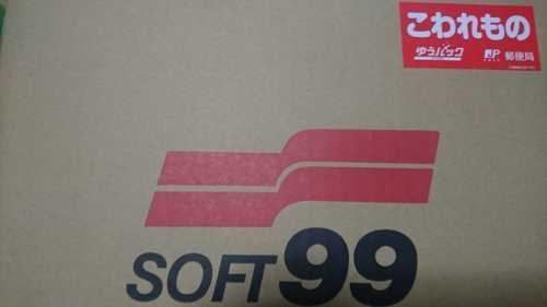 SOFT99のダンボール