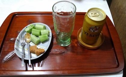 キュウリで生ビール - 新simmel20の日記