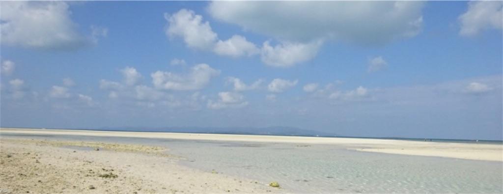 南の島の浅瀬
