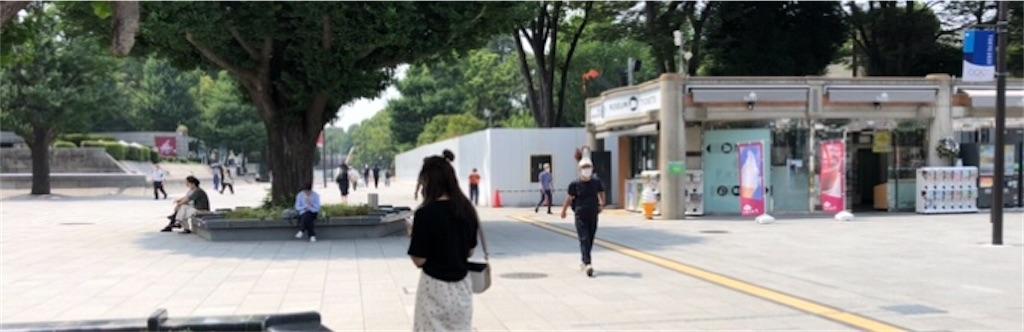 上野公園の歩道