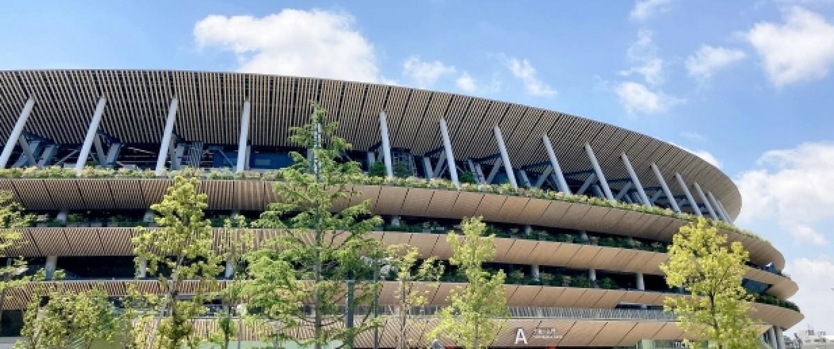 東京オリンピック会場 国立競技場