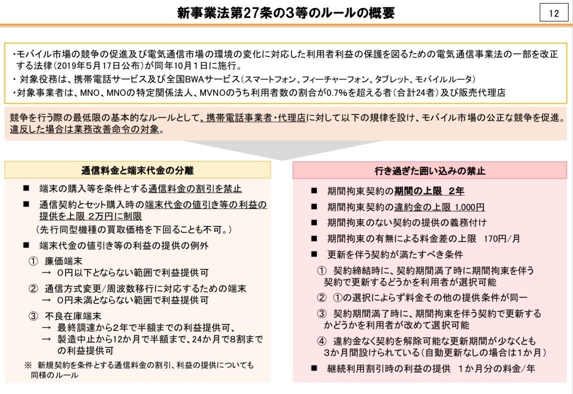 総務省/新ルールの概要