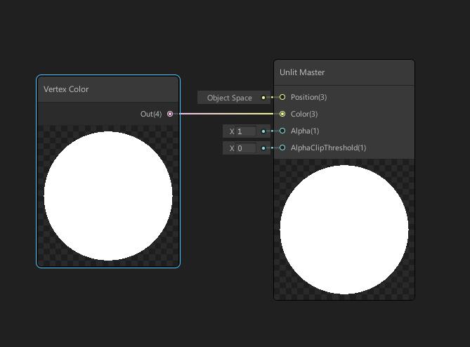Unity Shader Graph Vertex Color
