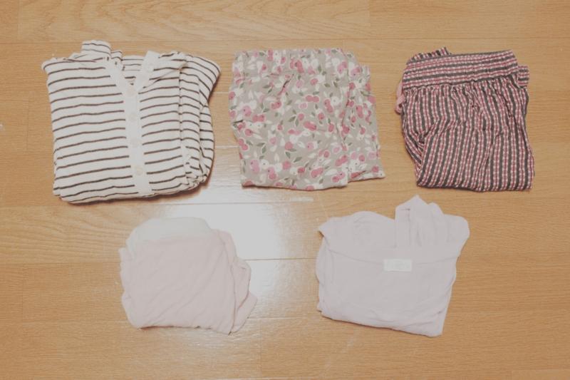 夏用パジャマの画像