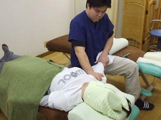 五十肩の施術