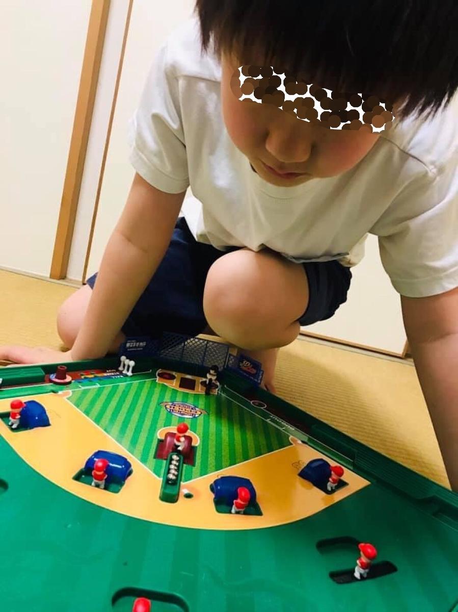 エポック社の野球盤「モンスターコントロール」
