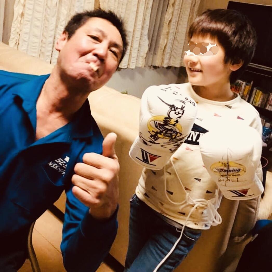 三浦国宏と息子のK