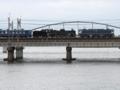 『京都新聞写真コンテスト 2台の機関車』
