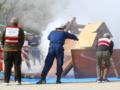 京都新聞写真コンテスト「消火訓練」