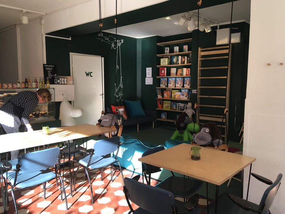 ヘルシンキムーミンカフェKRUUNUNHAKA店キッズスペース