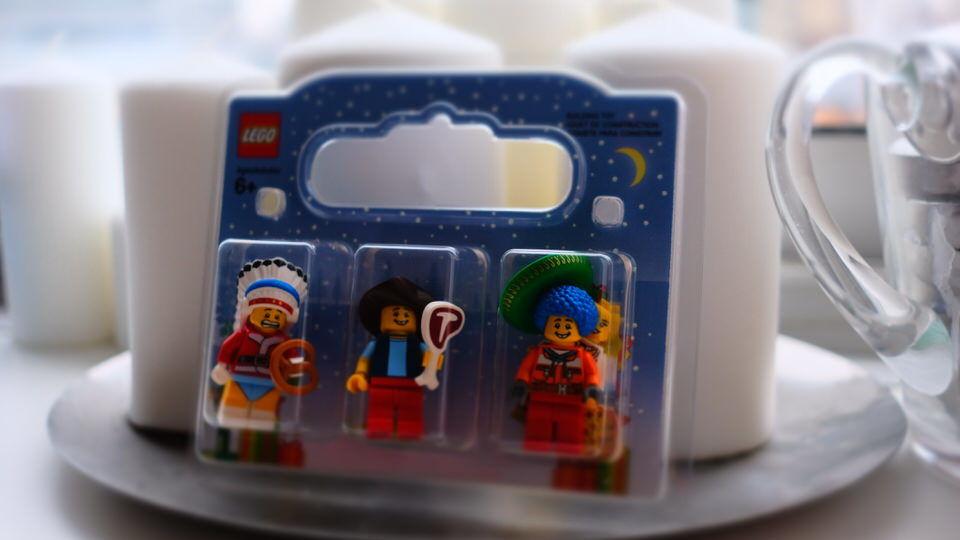 LEGO 自分で作ったキャラ