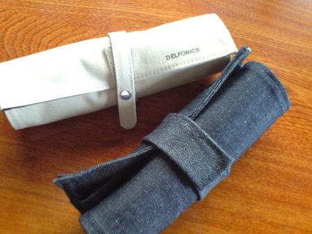 どれも、普通のポーチ型なので、鉛筆削りのカスなどが筆箱内を汚しその理由で今回も買い換えになった。で、作ることに。