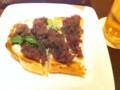 KIHACHIカフェの小倉トースト