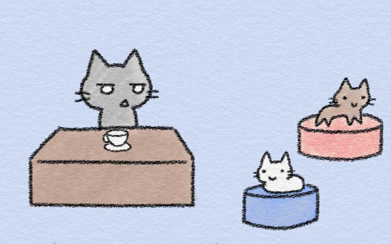 I found a nice cafe