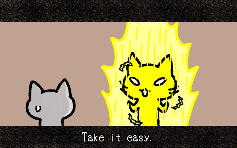 Take it easy