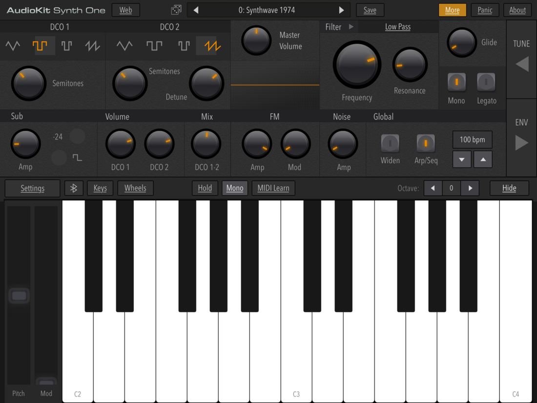 Synth One2