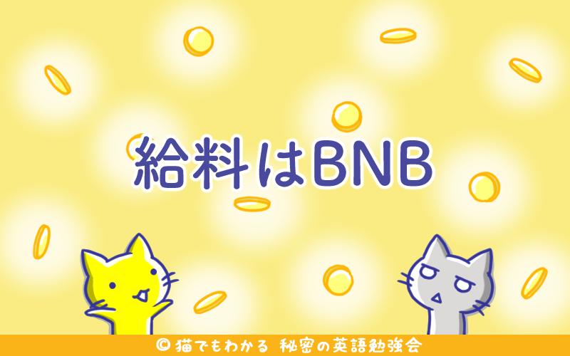 給料はBNB