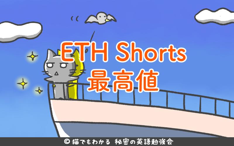 ETH Shorts最高値