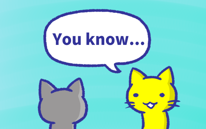 You knowの意味と使い方