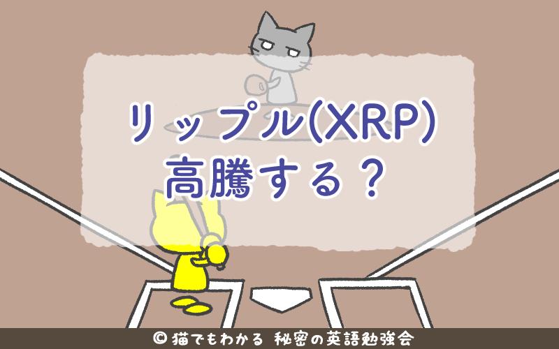 リップル XRP 高騰する