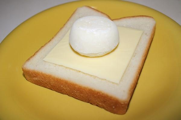 雪見だいふくトーストの作り方 食パン