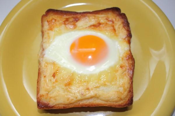 マヨたまトースト 食パン