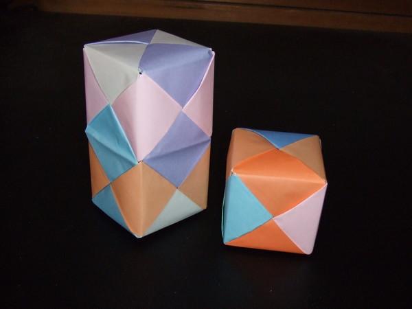 簡単 折り紙 : 折り紙で箱 : divulgando.net