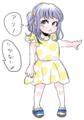 大村さんちのつくもちゃん(子ども時代)服はミキ○ウス参考・・・