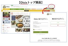 Oisixトップ画面